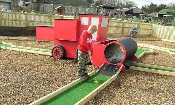 More about crazy golf